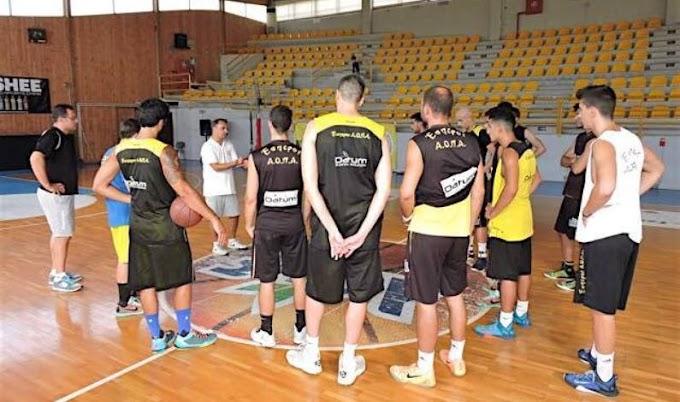 Γκοργκόλης: «Χαρακτηριστικά τελικού το ματς με τη Δάφνη»