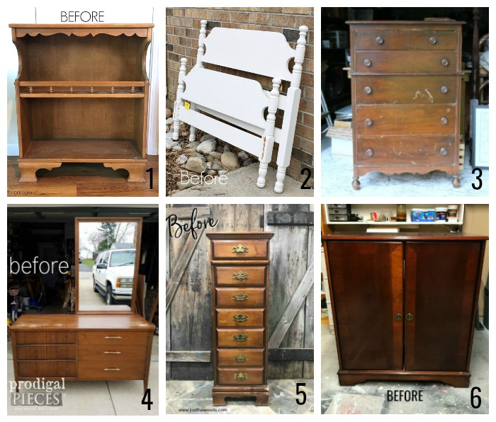Furniture Fixer Uppers Challenge April 2018