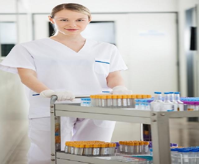Hospital Linen Carts