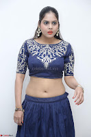 Ruchi Pandey in Blue Embrodiery Choli ghagra at Idem Deyyam music launch ~ Celebrities Exclusive Galleries 078.JPG