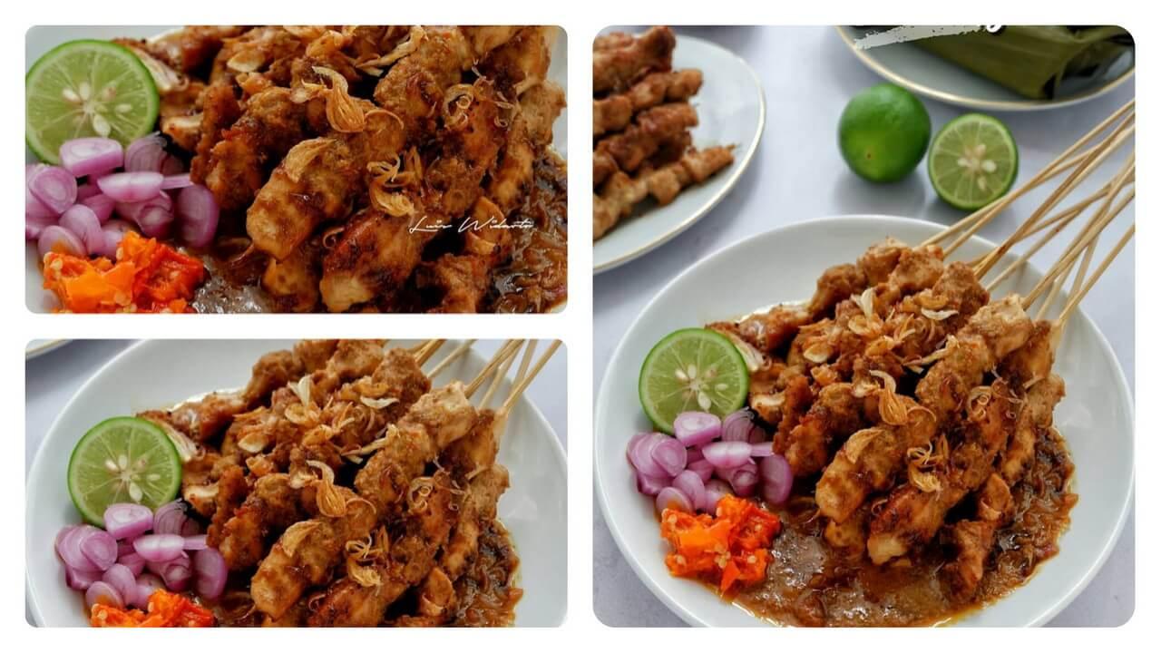 Sate Ayam Bawang