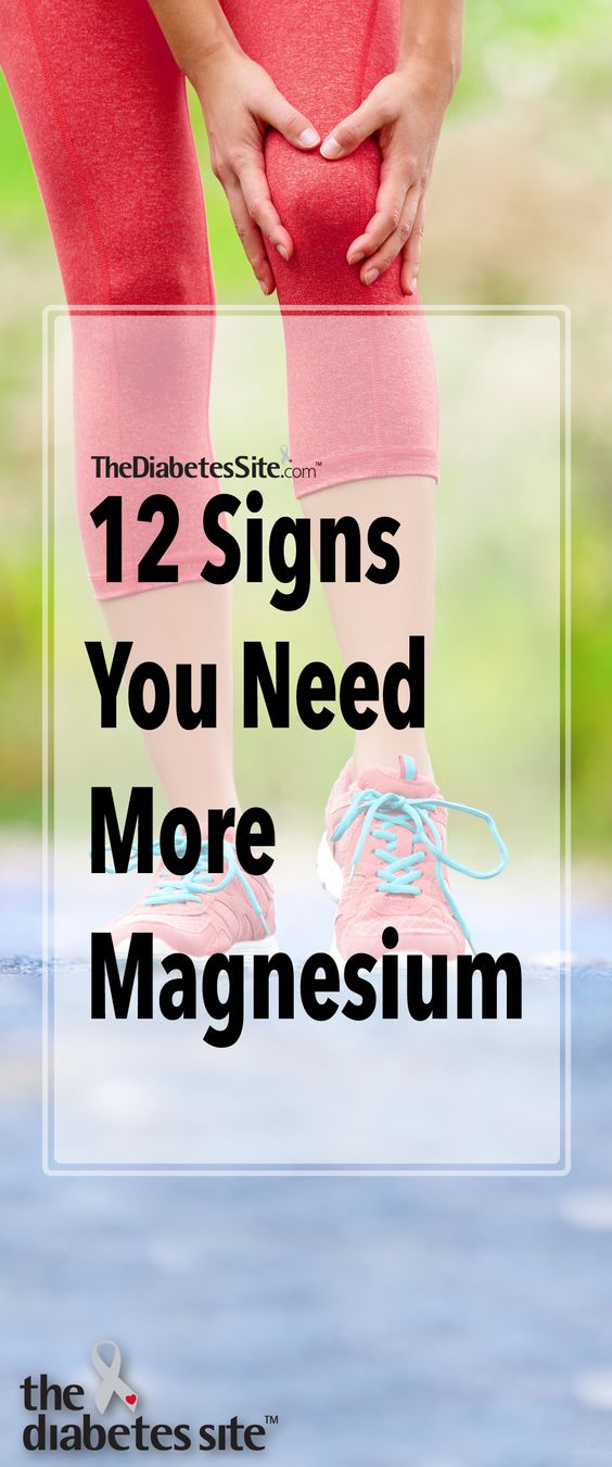 12 Signs You Need More Magnesium In Your Diet