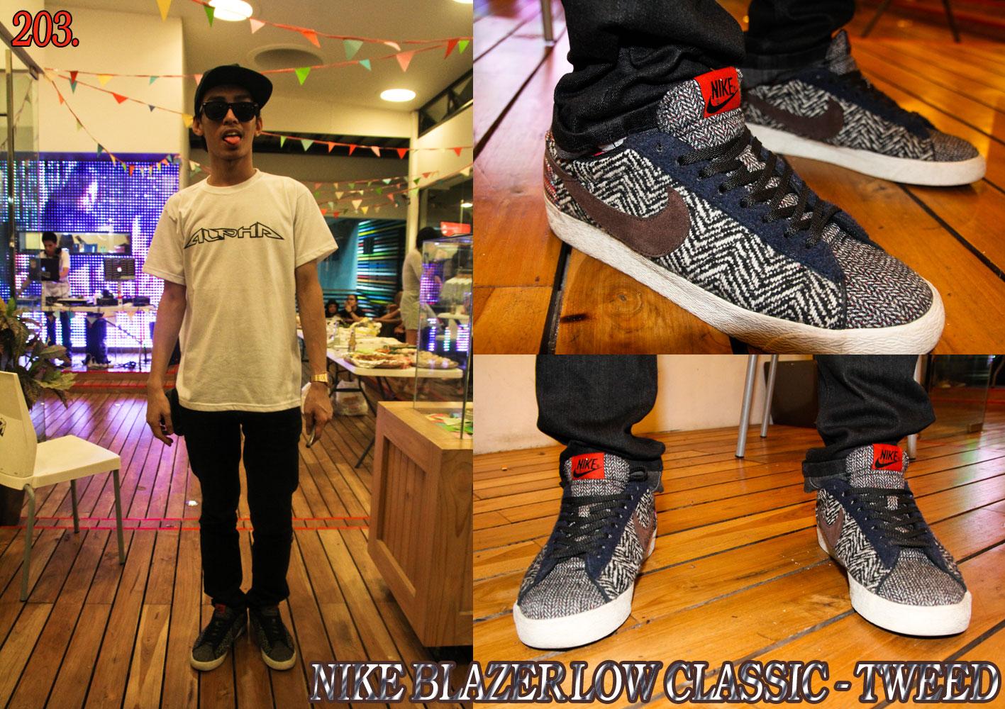on sale 263bd 382cc ... Nike Blazer Low Classic - Tweed ...