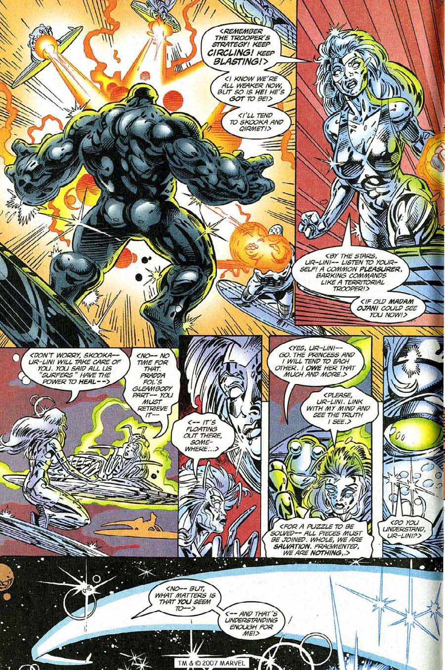 Silver Surfer (1987) Issue #118 #126 - English 8