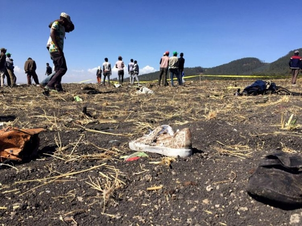 Piloto relatou dificuldades antes de queda de avião na Etiópia