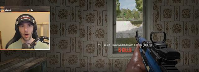 PUBG PC: ChocoTaco 'trổ tài' hạ gục kẻ địch cách xa gần 500m