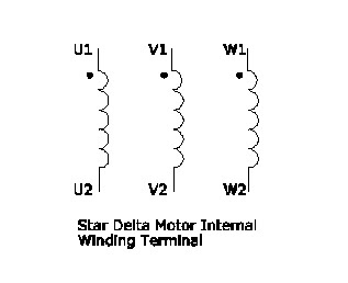 Motor Wiring Diagram U V W 2008 Smart Car Radio Star Delta Or Wye Configuration - A Basic How To Guide | Technovation ...