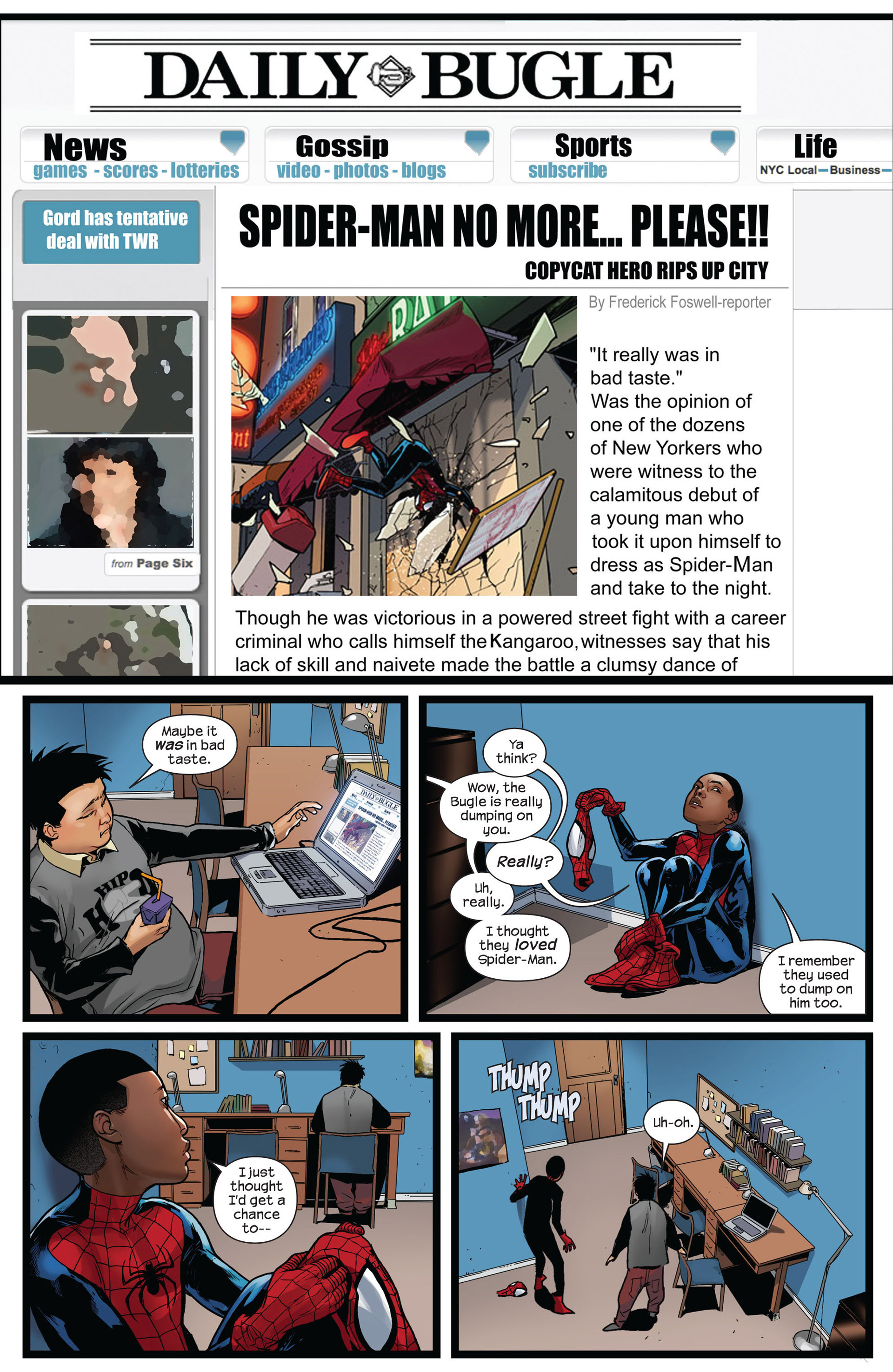 Read online Ultimate Comics Spider-Man (2011) comic -  Issue #4 - 18