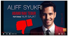 Thumbnail image for Video Lagu 'Abang Nak Tegur' Dapat Banyak Unlike Di Youtube, Dato Aliff Syukri Tanya Netizen