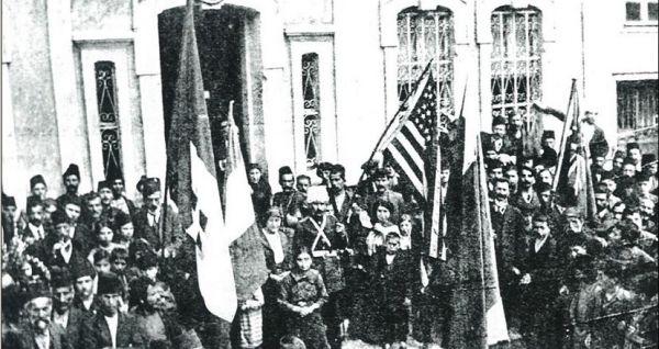 Trabzon'u işgal eden Ermeniler