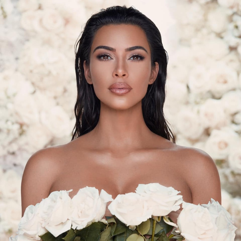 KKW Beauty Mrs. West Bridal Makeup Campaign