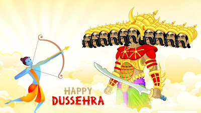 Happy Vijaya Dashami Dussehra New HD Wallpaper