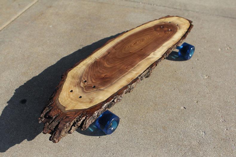 Longboards de madera únicos por '31 & Change'