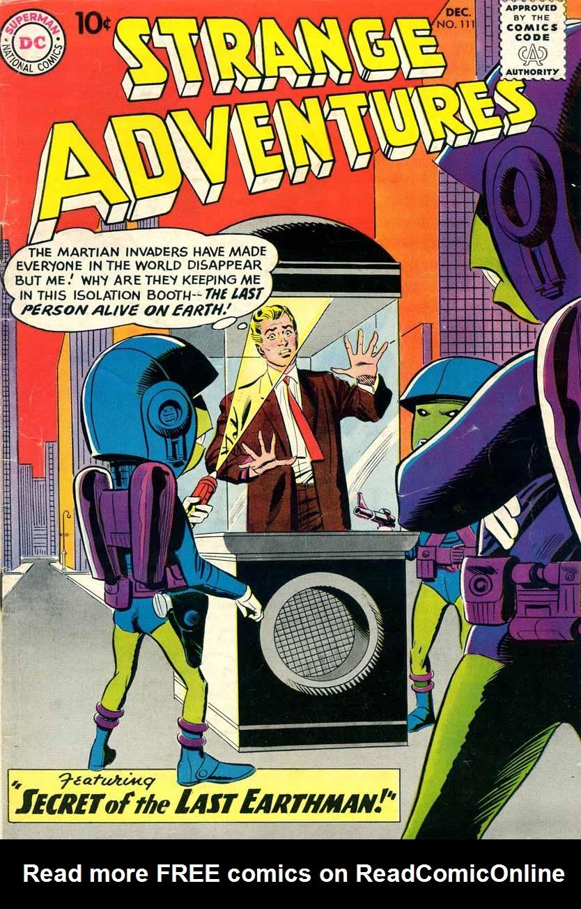Strange Adventures (1950) issue 111 - Page 1