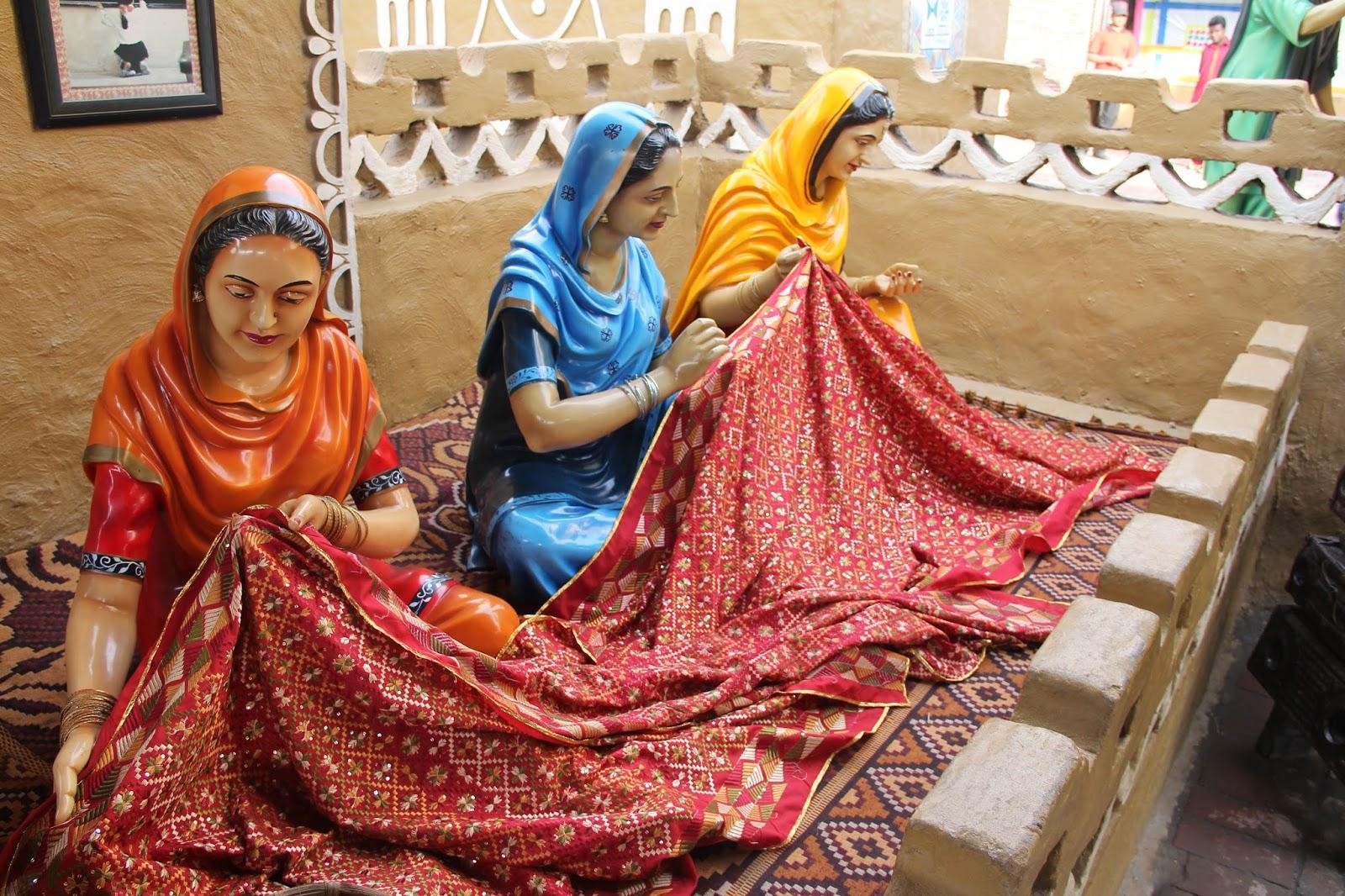 punjabi culture haveli punjab phulkari rangla restaurant glimpse wallpapers well dupatta personality into sikh heritage colorful delight depicted attire visual