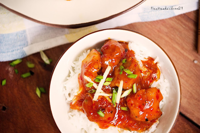 how to cook Orange Chicken recipe and preparation with step by step pictures