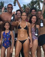 Jennifer Lopez wearing a little bikini