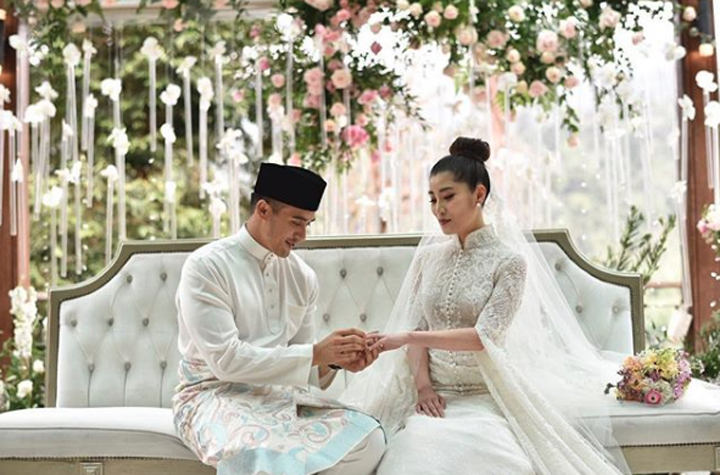 Foto Perkahwinan SM Faliq Nasimuddin Chryseis Tan