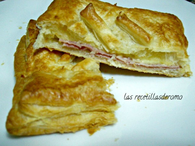 """Sándwich mixto de hojaldre"""