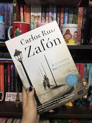 [Resenha] - A Sombra do Vento - Carlos Ruiz Zafón