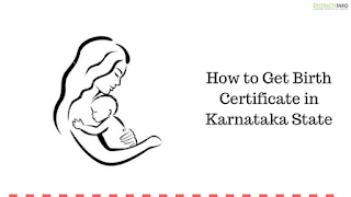 How to Get Birth Certificate in Karnataka State