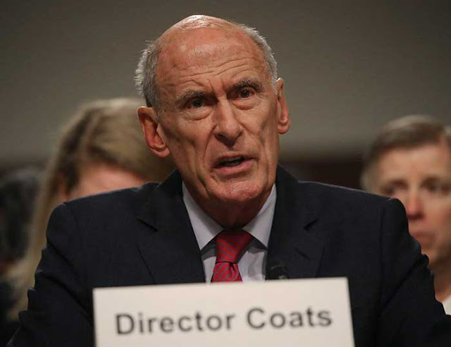 National Intelligence chief Daniel Coats said Trump asked him to intervene with Comey: report