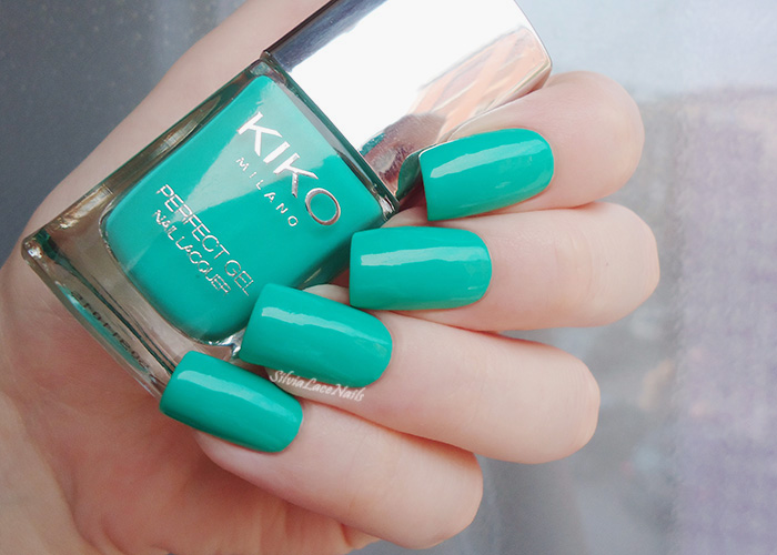 KIKO Perfect Gel Duo 678 Spring Green: swatches & review