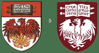 UChicago's digital-first logo shield redesign