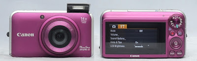 Jual Canon PowerShot SX210 IS 2nd