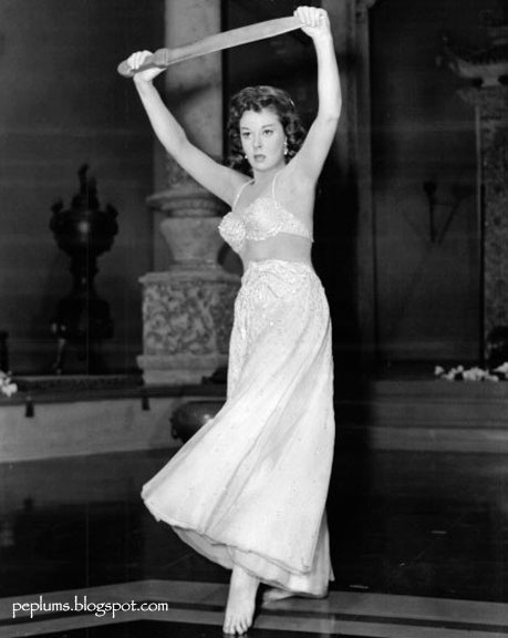 """The Occidental Dancer: Harem dancers: Susan Hayward and Sylvia Lewis in  """"The Conqueror"""""""