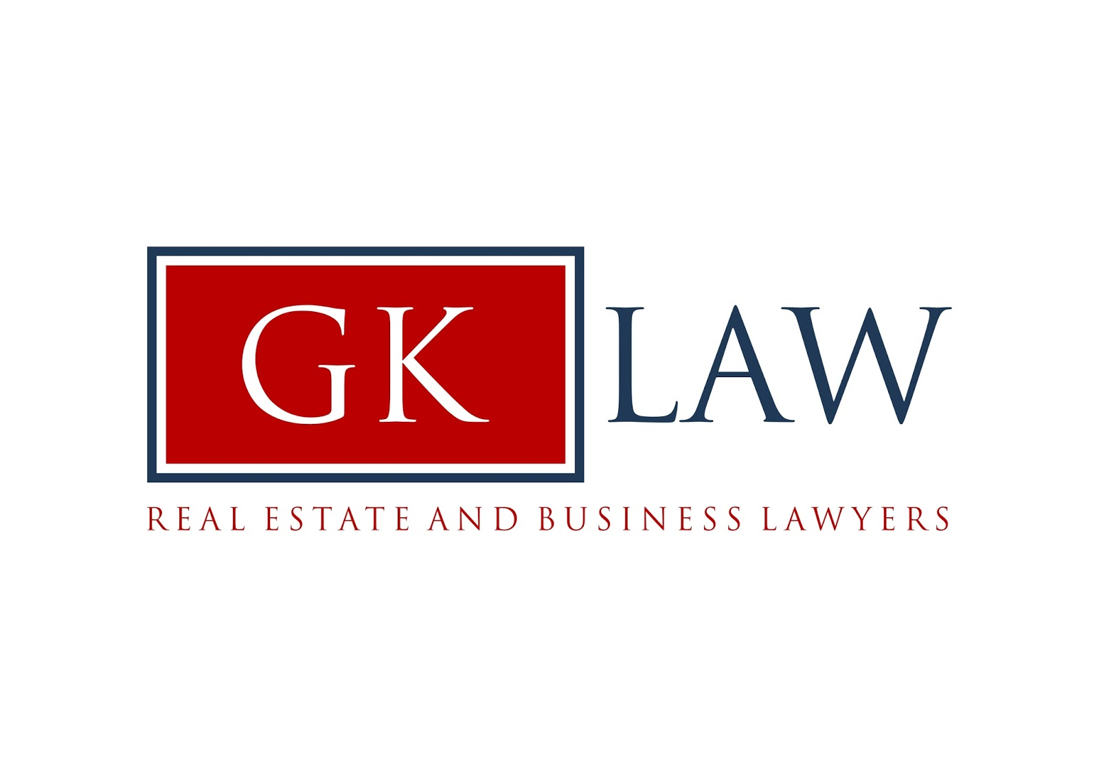 Real Estate Lawyers Gk Law Logo Viral Media