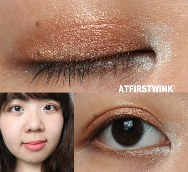 MUA (makeup academy) eyeshadow palette - Spring Break makeup look tutorial bronze turquoise