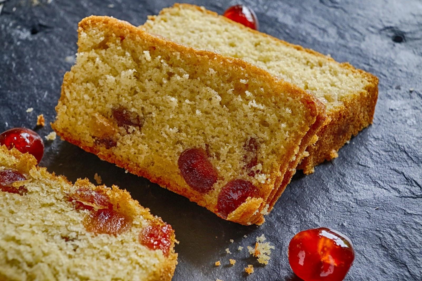 Jibberjabberuk Cherry Loaf Cake