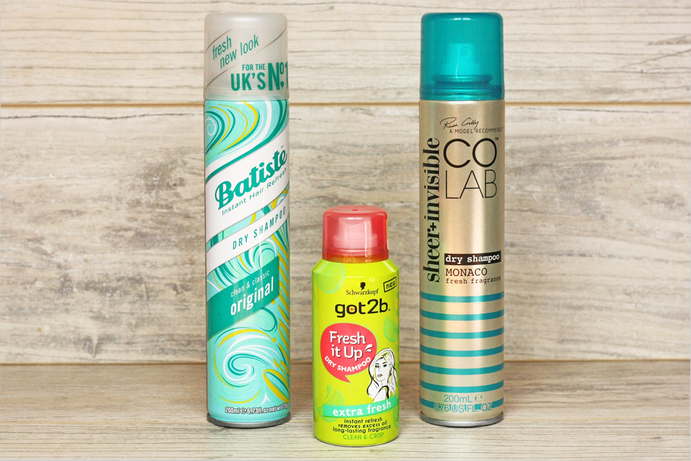 Batiste, Colab, got2b, sheer-invisible, fresh-it-up