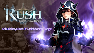 RUSH : Rise up special heroes Apk Mod Damage