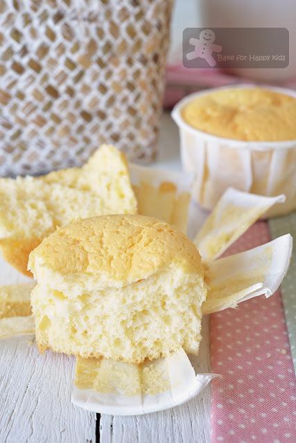 light Japanese condensed milk cheesecake cupcakes