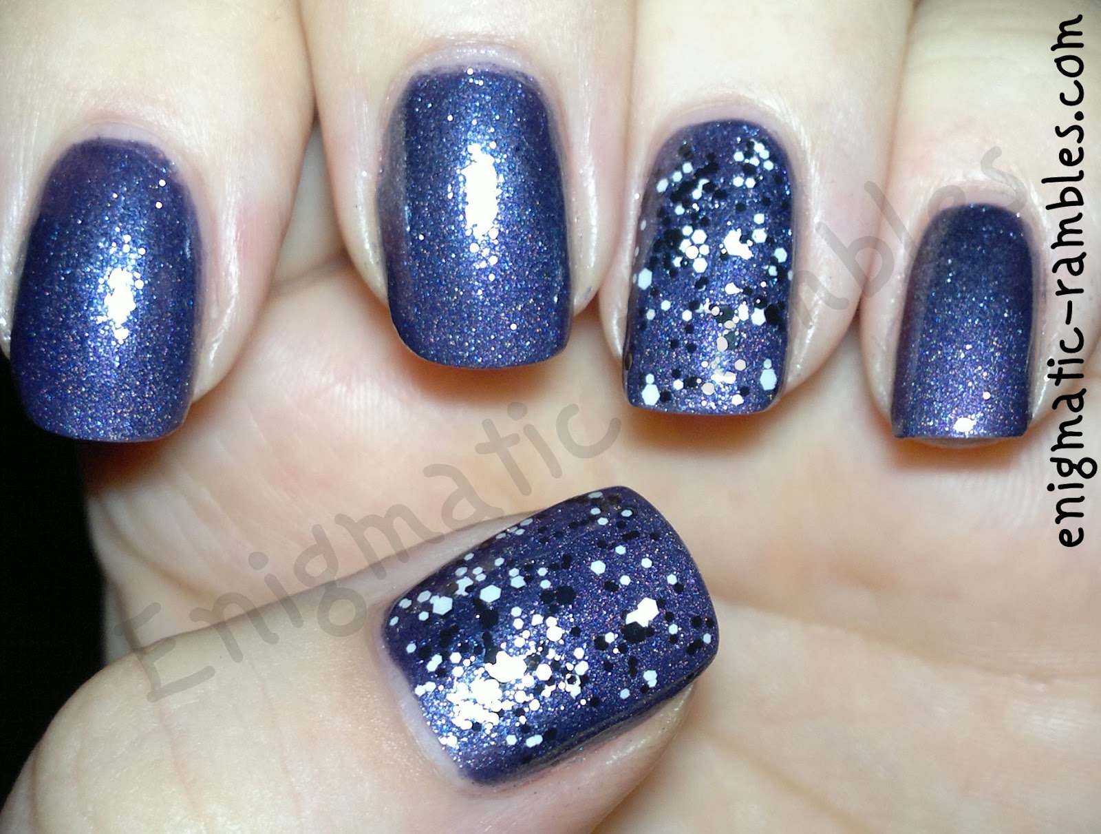 glossy-confetti-l'oreal-top-coat-max-factor-meteorite-41-a-england-lady-of-the-lake