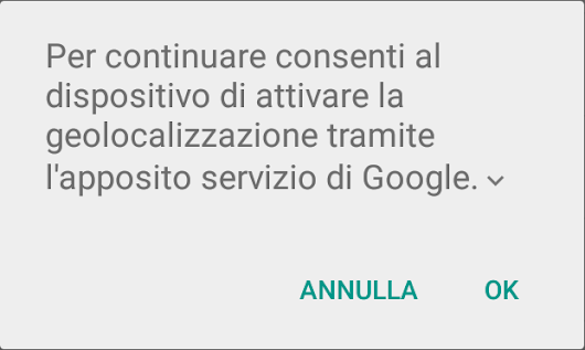 Android e l'infinita ricerca dei satelliti GPS in Google Maps