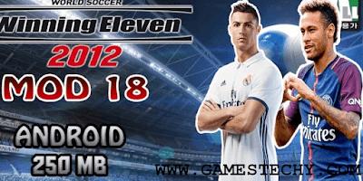 Winning Eleven 2012 WE 2018 Mod Apk - 2019