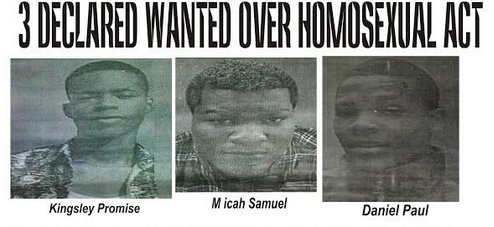 3 gays declared wanted delta state