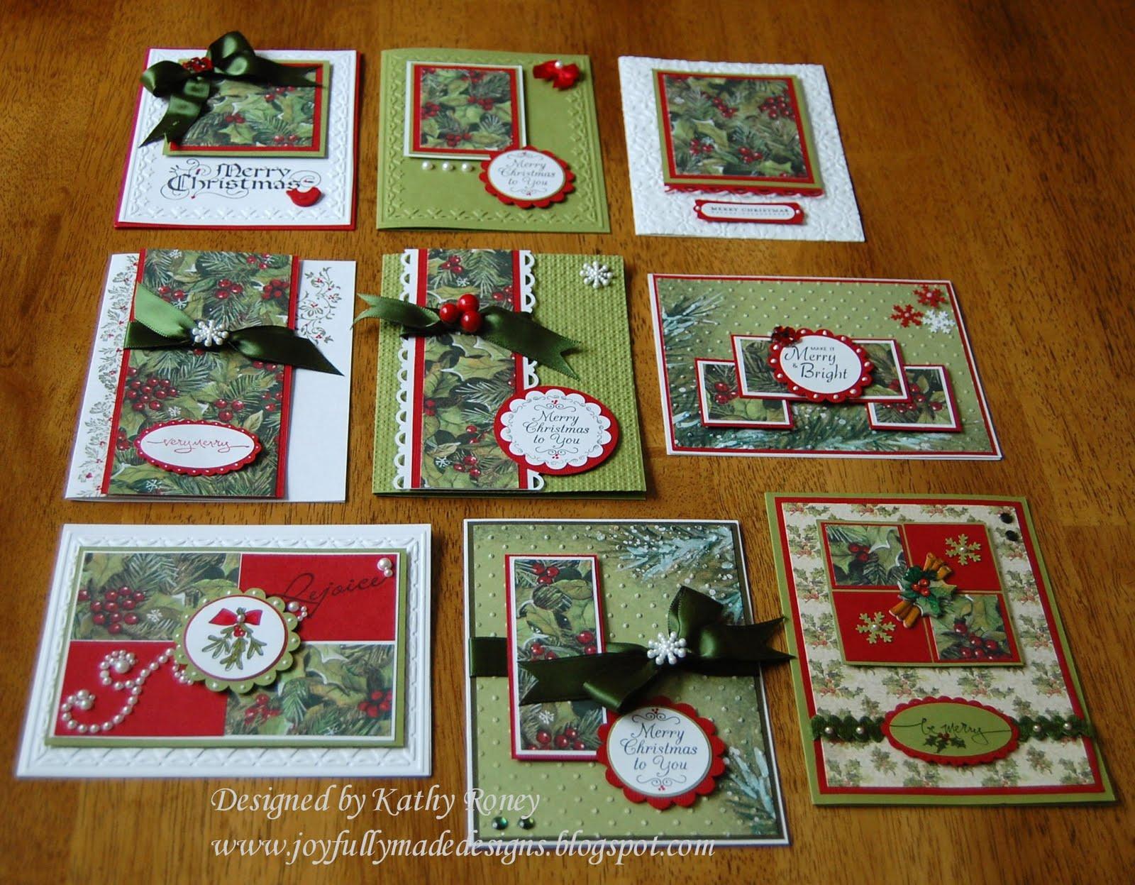 Joyfully Made Designs: Christmas One Sheet Wonder 8 x 8 - photo#42