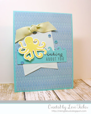 Inking About You card-designed by Lori Tecler/Inking Aloud-stamps and dies from Reverse Confetti