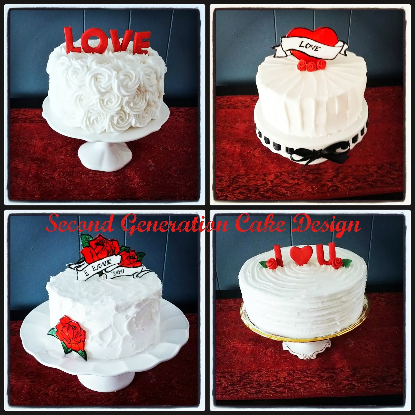 Second Generation Cake Design Valentine S Day Love Cakes
