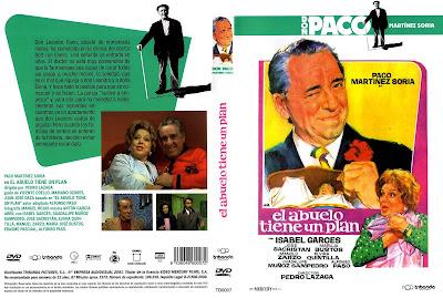 Caratula dvd: El abuelo tiene un plan (1973) - Cine Clasico