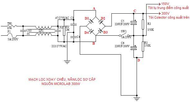 Ac Filter Circuit The Primary One Dimensional Filter Adapter Pc