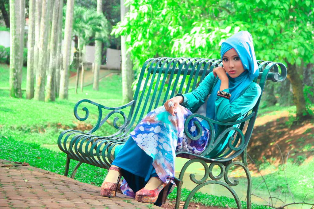 Konsep Foto Model Hijab Igo dalam Fotografi Hijab pesta