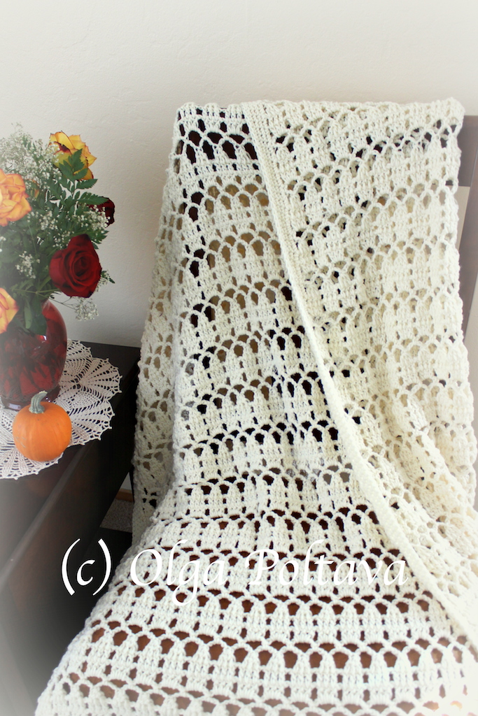 Lacy Crochet: Easy Lace Throw Crochet Pattern, Impeccable