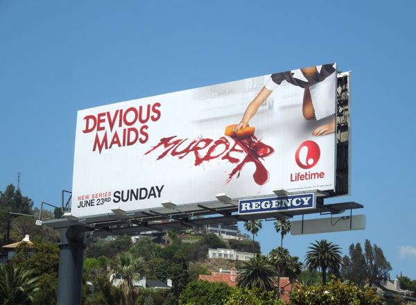 Devious Maids Murder billboard