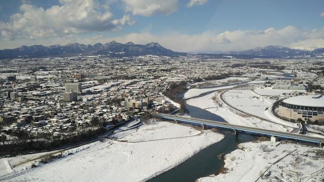 Salju Pertama Di Jepang, Maebashi Kedinginan