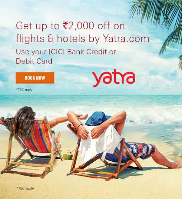 Discount coupon for yatra